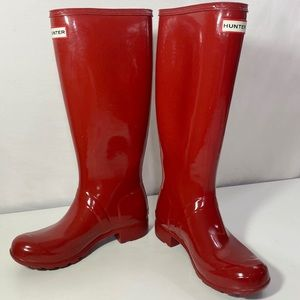 HUNTER Original High Gloss Waterproof Wellie Boot